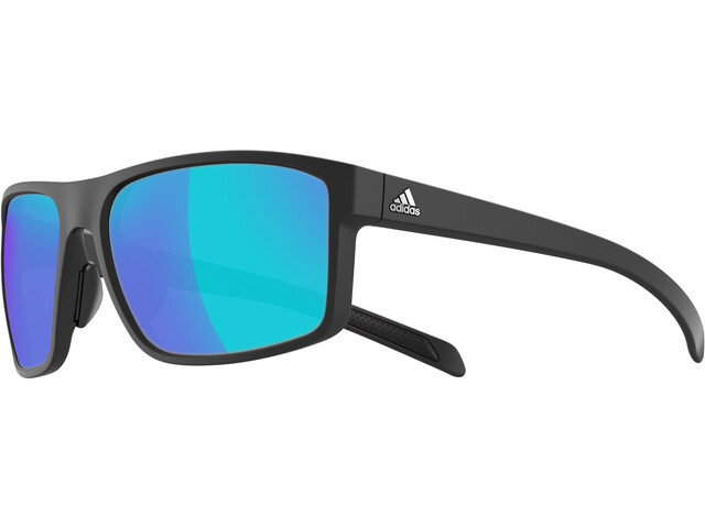 adidas Whipstart Cykelbriller Herrer Blue Mirrored blå/sort (2019) | Glasses